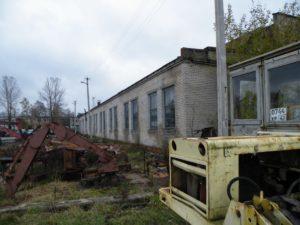 Обследование зданий производственной базы. 2009 год