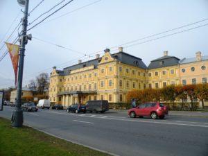 Обмеры помещений Меншиковского дворца. 2013 год
