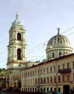 Обследование  конструкций стропильной системы купола церкви Святой Великомученицы Екатерины. 2005 год