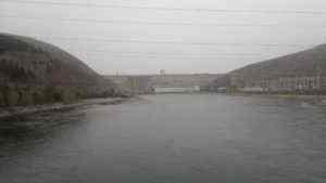 Обследование сооружений Зейской ГЭС. 2013 год