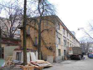 Техническое обследование зданий Ленфильма. 2014 год