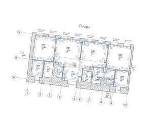 Проект перепланировки помещений «Невский Палас». 2012 год
