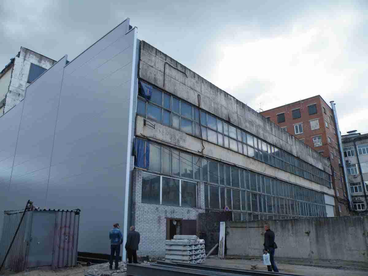 Обследование несущих конструкций здания. 2016 год
