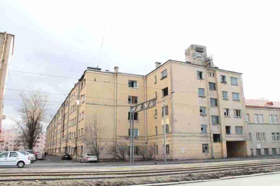 Обмер здания на пр. Бабушкина