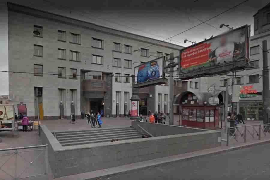 Обмеры здания метро на Лиговском пр.